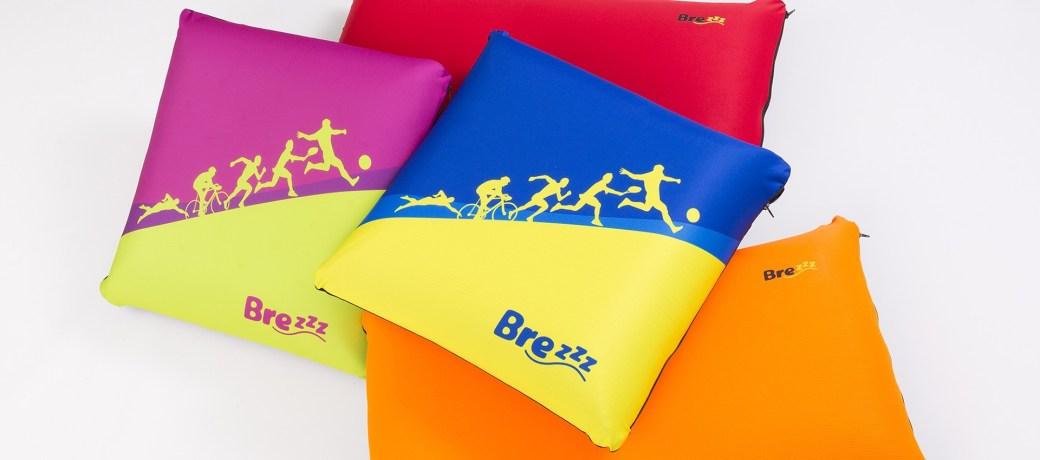 Las primeras almohadas y cojines pensados para deportistas