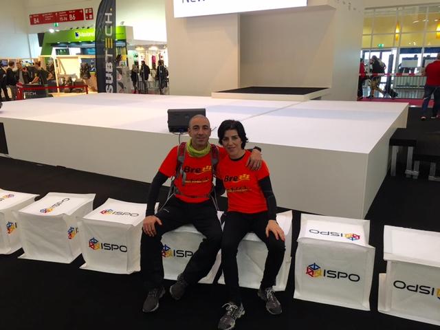 Almohadas viscoelásticas BREZZZ visita ISPO Munich 2016