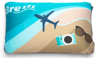 almohada viscoelastica de viaje