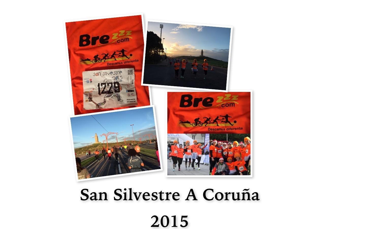 Las almohadas viscoelásticas Brezzz en la San Silvestre A Coruña 2015